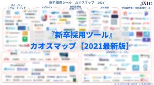 「新卒採用ツール」カオスマップ2021